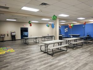 all sports kids event room