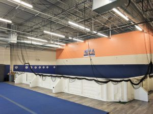 all sports kids floor with net