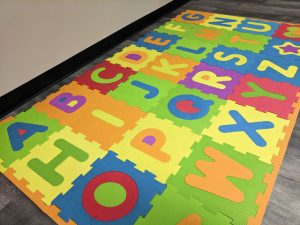 all sports kids abc floor mat