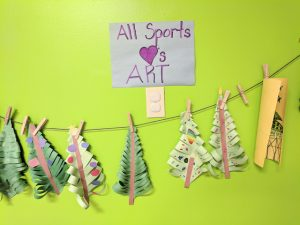 all sports kids christmas trees