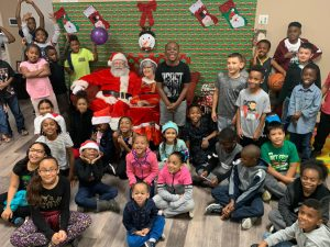 all sports kids christmas photo