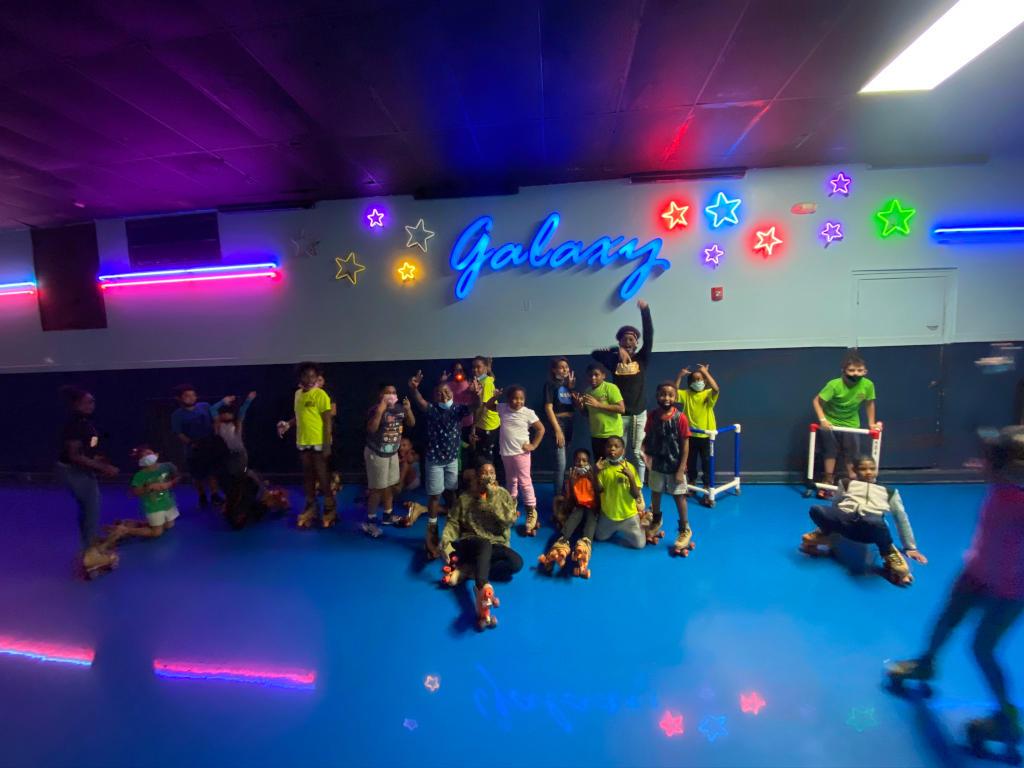 all sports kids galaxy skating