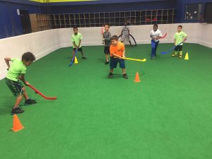all sports kids indoor turf hockey