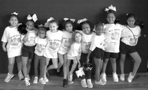 all sports kids cheer